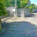 家の前、幅4mの私道