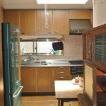 ダイニングキッチンの下は床暖房