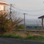 家近くの県道より(周辺)