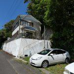 山間の4DK戸建 高台に立土・2階から太平洋を望めます