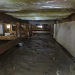 床下防水シート敷