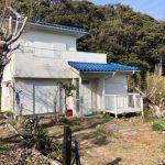 勝浦 太平洋を遠望 日当たり良好!2LDK 閑静な住宅街 庭10坪以上 隣接建物距離2m以上